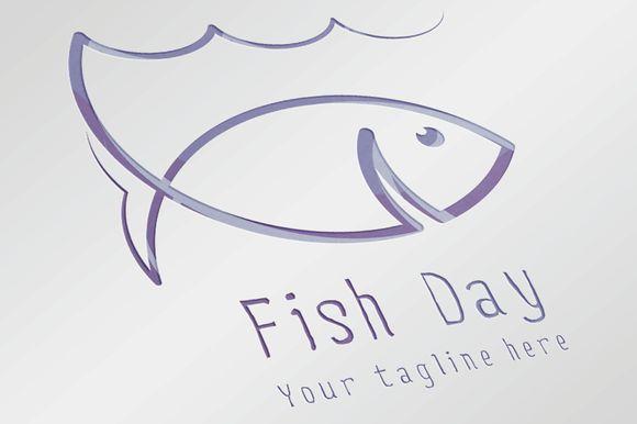 Check out Fish Day Logo by Mayachok on Creative Market