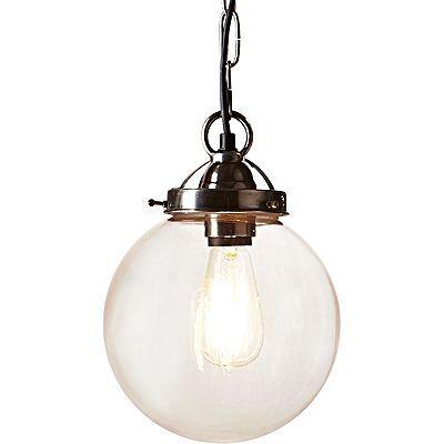 Celeste Pendant Light, Antique Silver