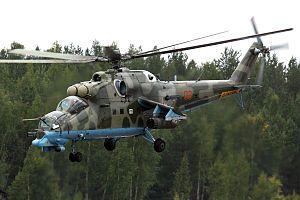 Russian Air Force Mil Mi-24PN