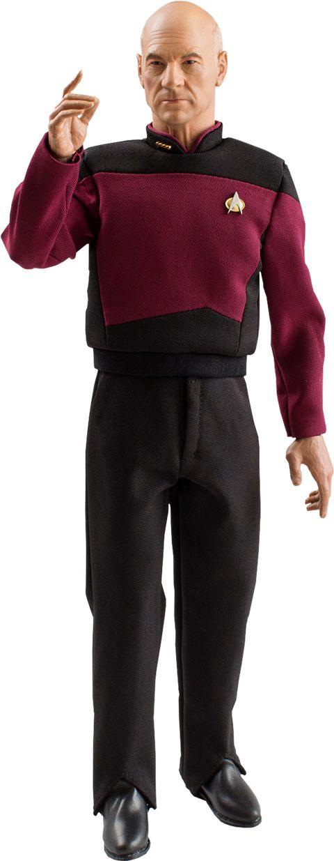 Star Trek: The Next Generation Captain Jean-Luc Picard 1:6 Scale Action Figure