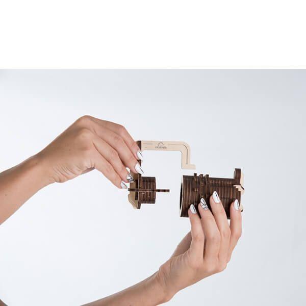 Houten bouwpakket combinatieslot