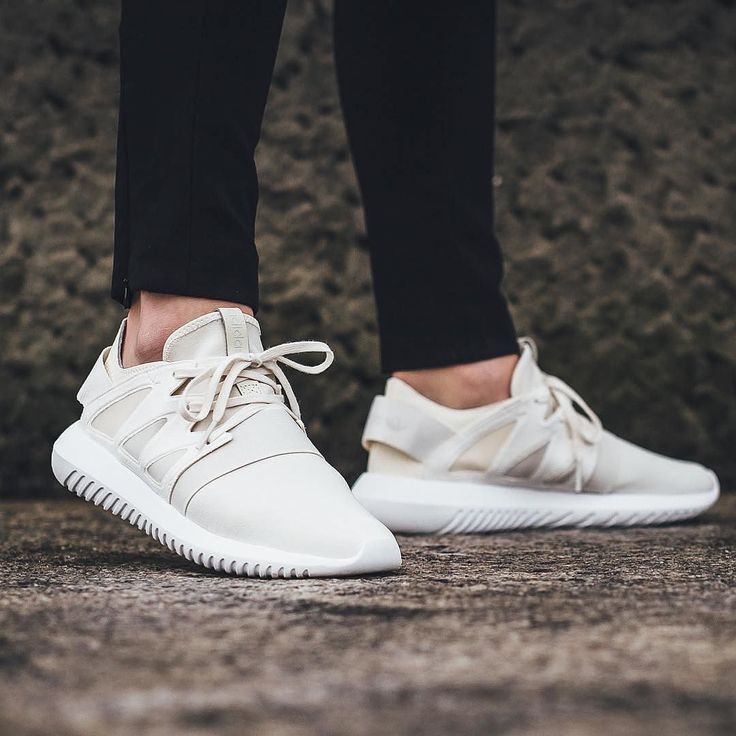 #hypefeet: @adidasoriginals Tubular Viral W Core White  Photo: @titoloshop by hypebeast