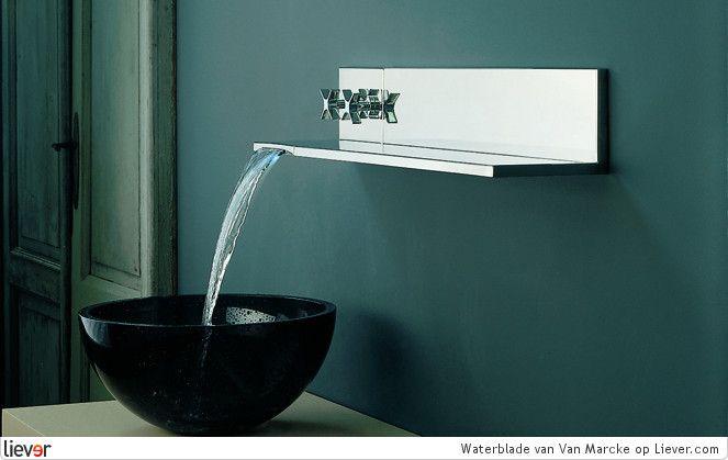 Waterblade - Van Marcke - design p jamieson - wastafels - kranen