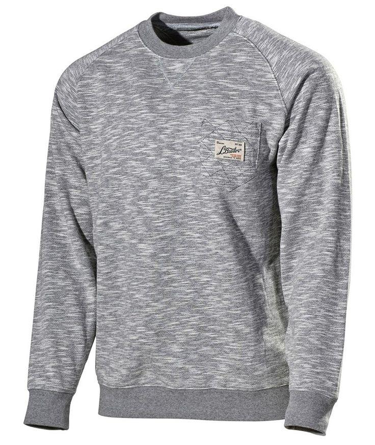 L.Brador Sweatshirt 771PB, gråmeleret
