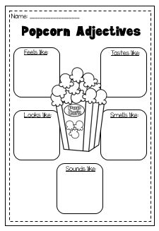 adjectives printable worksheet pack kindergarten first second grade my tpt store teaching. Black Bedroom Furniture Sets. Home Design Ideas