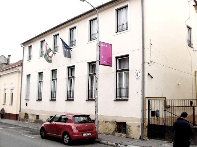 A nagykanizsai Munka szabadkőműves páholy székháza-mai / The old masonic lodge house in Nagykanizsa - nowadays.