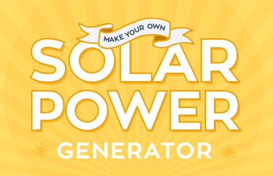how to clean power from a generator