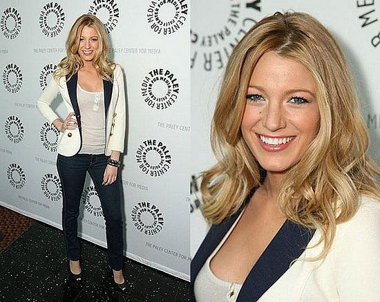 I'm not a Blake Lively fan, but this blazer rocks!!! \m/