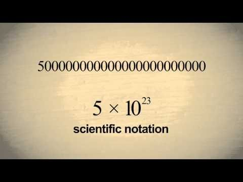 33 Best Scientific Notation Images On Pinterest Scientific