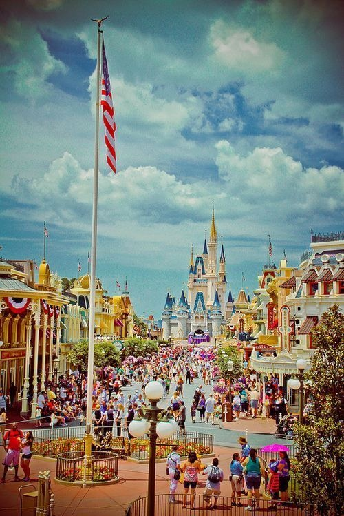 Disney world! There's a special place in my heart for Disney. It's where I got engaged to the love of my life <3