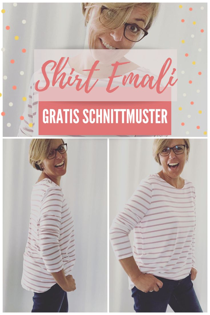 Free Sewing Pattern Oversize Shirt