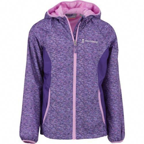 ea01572e Free Country Girls' Lightweight Windshear Jacket (Purple, Size Small) -  Youth Outerwear, Girl's Ski Outerwear And Fleece at Academy Sports  #BlueRaincoat