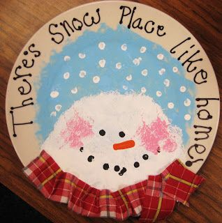Starts with a paper plate! Cute gift ideas for parents