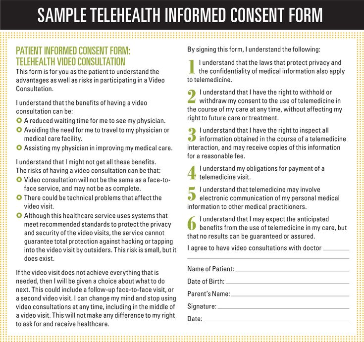 36 best telehealth images on Pinterest Medical, Videos and Health - hipaa consent forms