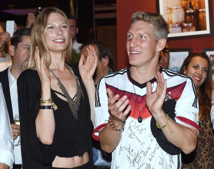 With Sarah Brandner by your side, there's plenty to cheer about -- just ask German player Bastian Schweinsteiger.