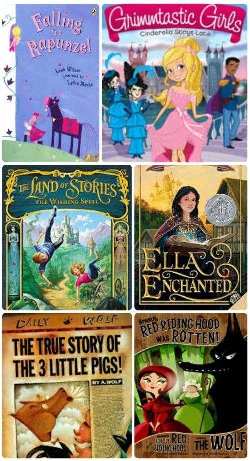 Wonderful twists on traditional fairy tales -- laugh out loud picture books & chapter books!