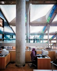 Egypt's Cutting-Edge Alexandria Library  The Alexandria Library, successor to an ancient marvel, intends nothing less than to change the Middle East's mind-set.