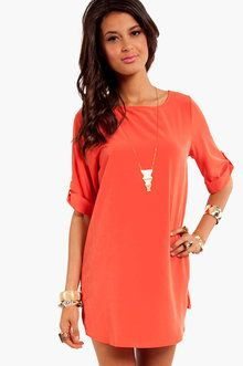 Summer dress colors red