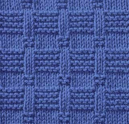 Every Saturday I will share with you a new stitch.  Today's stitch is: Tile Stitch       Easy knitting stitch with rows of reverse garter...