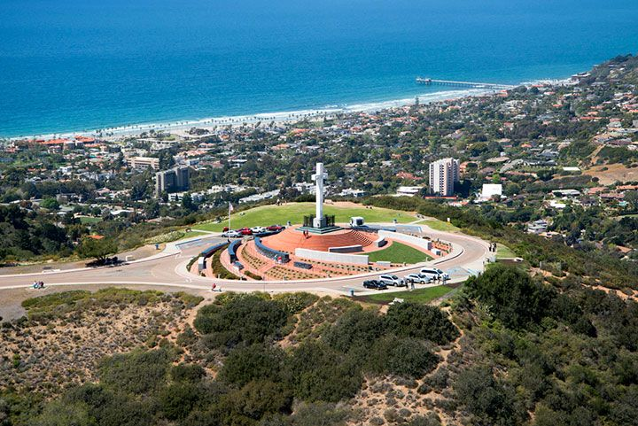 Mt Soledad ~ San Diego... Man, I had so much fun at this place!!  Memories!!