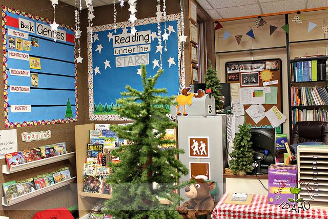 Img 9763 Camping Themed Classroom Library By