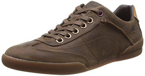 Oferta: 115€. Comprar Ofertas de Timberland C9445B Zapatillas de Deporte de Cuero para Hombre, Marrón - Braun (Brown Oiled FG), 47.5 barato. ¡Mira las ofertas!