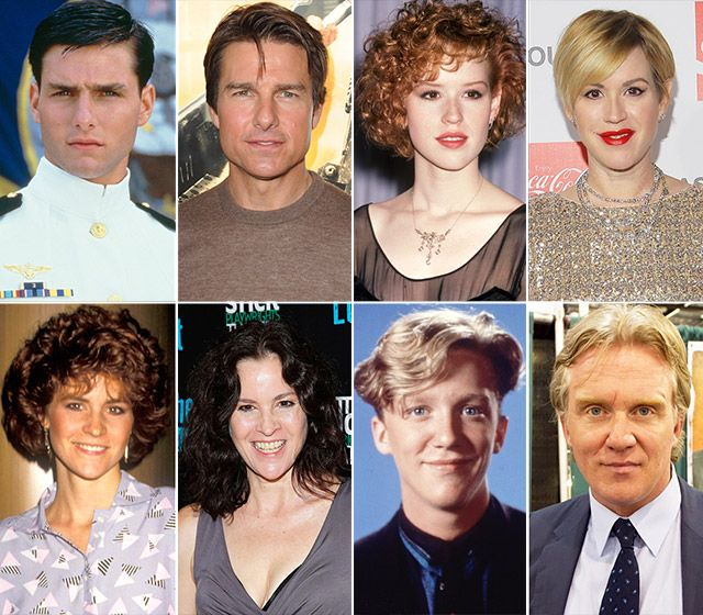 '80s Stars: Then and Now