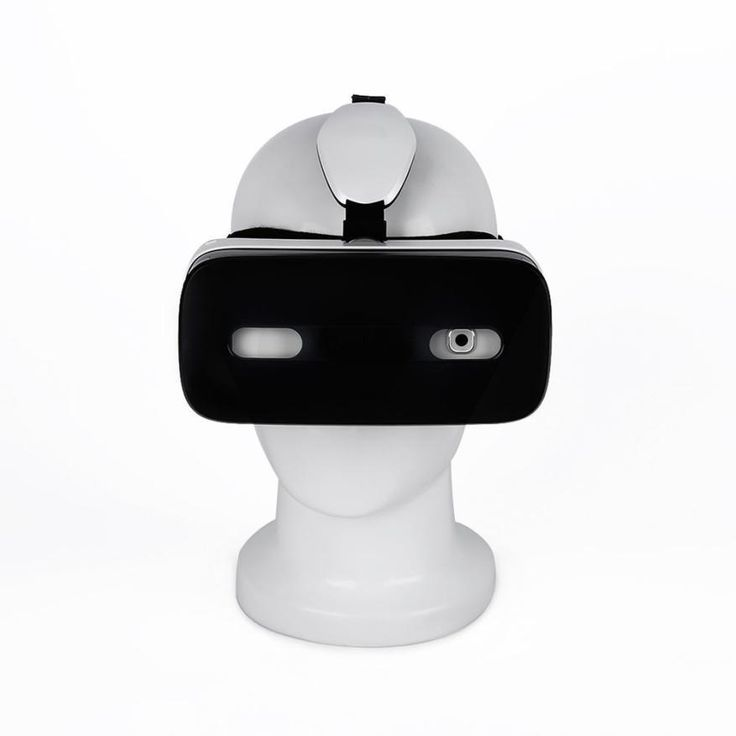 3D VR Glass White 9 Axles Sensor Touch Panel VR Goggle Glass Gear for Dlodlo H One 3D VR Box For iphone For Samsung Gift #201