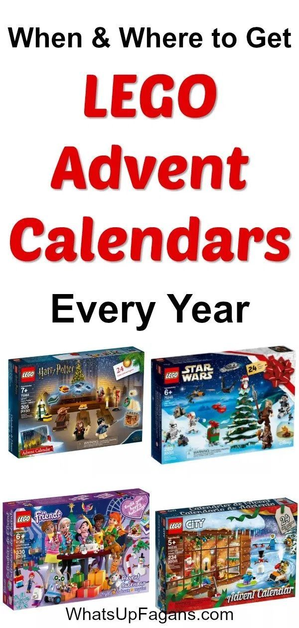 Lego Advent Calendars Where To Get Them All In 2019 Lego