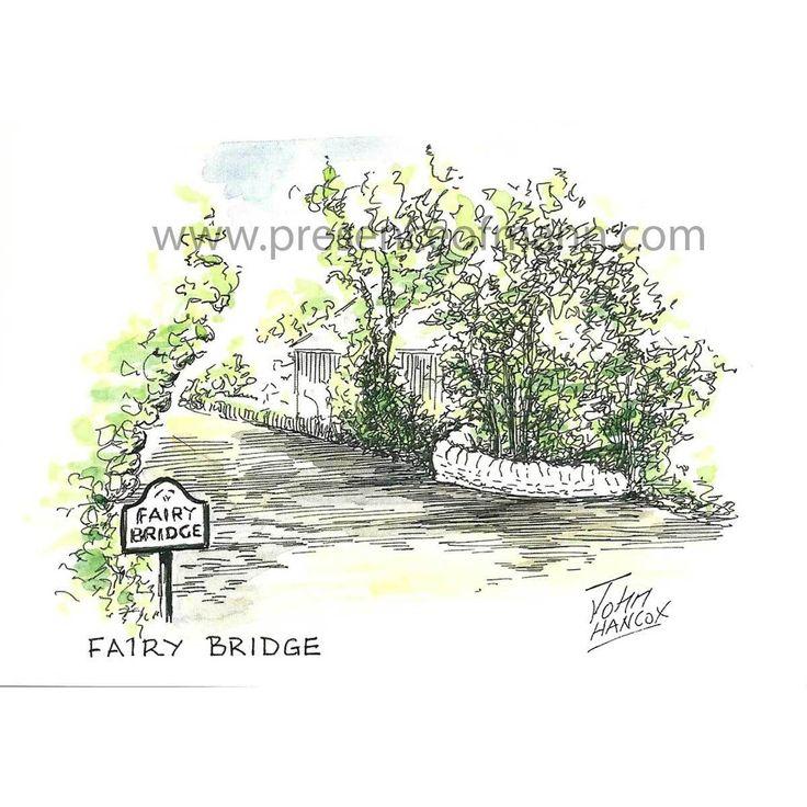 Hancox Art Greeting Card 'Fairy Bridge' - Presence of Mann