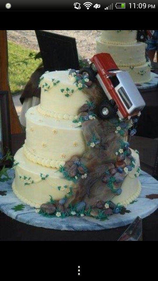 Mudding Wedding Cake Future Wedding Redneck Wedding