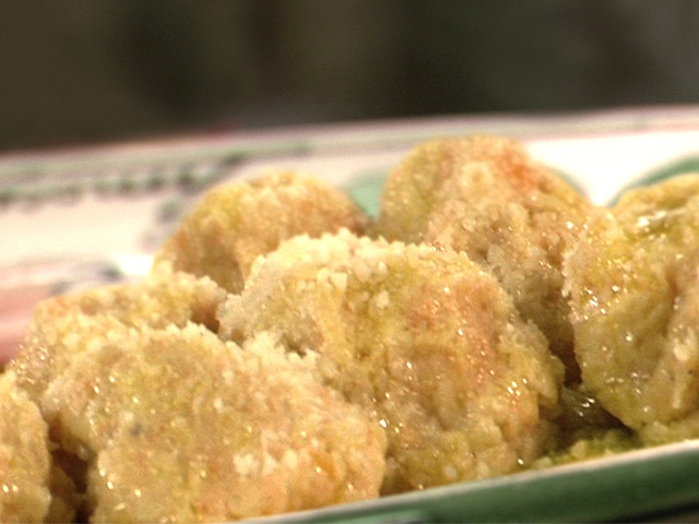 Gnudi Con La Zucca: Naked Ravioli with Squash from CookingChannelTV ...