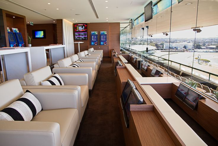 TABCORP For its high rolling customers Tabcorp has created a lounge concept in which members can attend the races and place their bets in privacy. Drinks, food and the latest technology are available to these privileged punters