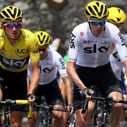 Tour de France 2017 Stage 3 Chris Froome, Geraint Thomas