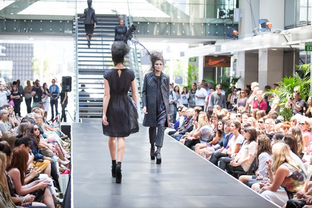 Trelise Cooper 'Opulent Express' coat, Trelise Cooper 'Prickly Pear' dress & Trelise Cooper 'Walk Of Art' pant