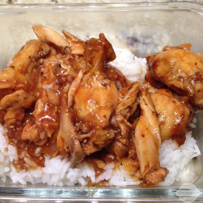 Low-FODMAP Slow Cooker Chicken Drumettes (made 7/8/15 - easy to make and complex flavors. Hit with the friends I served it too! I used cauliflower rice.)