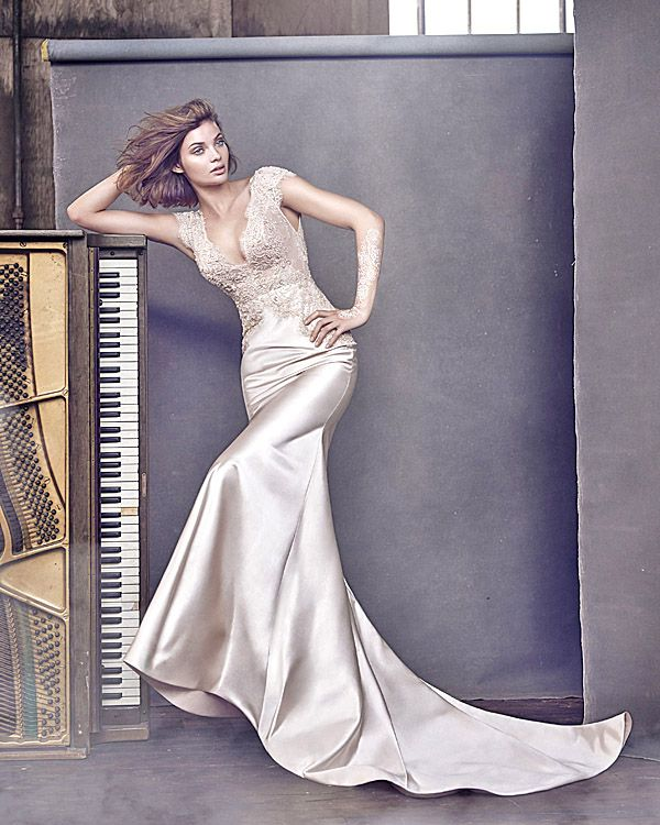 Lazaro Wedding Dresses And#8211; Romantic Bridal Collection ❤ See more: http://www.weddingforward.com/lazaro-wedding-dresses/ #weddings