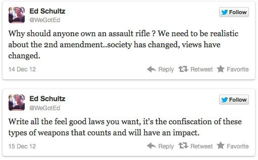 Ed Schultz: Confiscate Guns and Kill the Second Amendment. Alex Jones' Infowars: There's a war on for your mind!