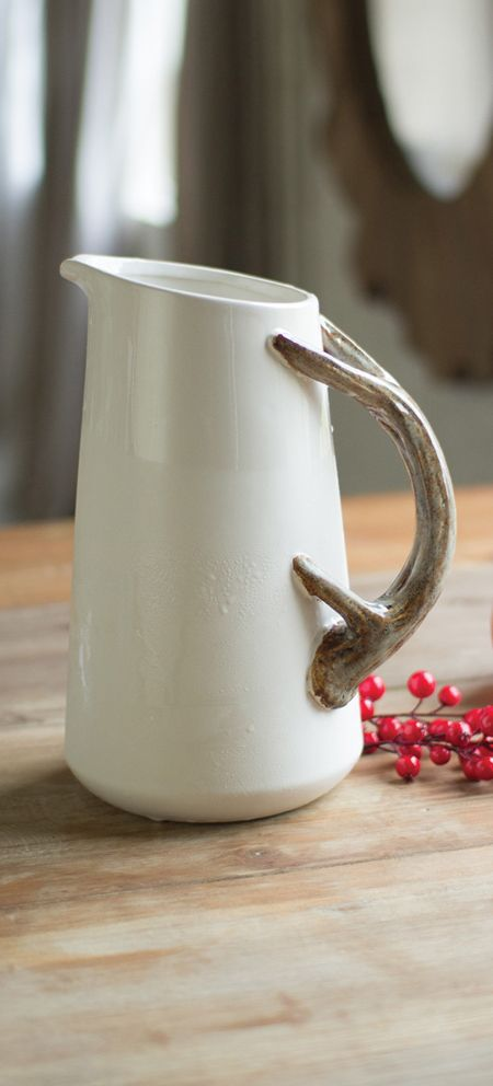 Rustic Ceramic Pitcher                                                                                                                                                                                 More