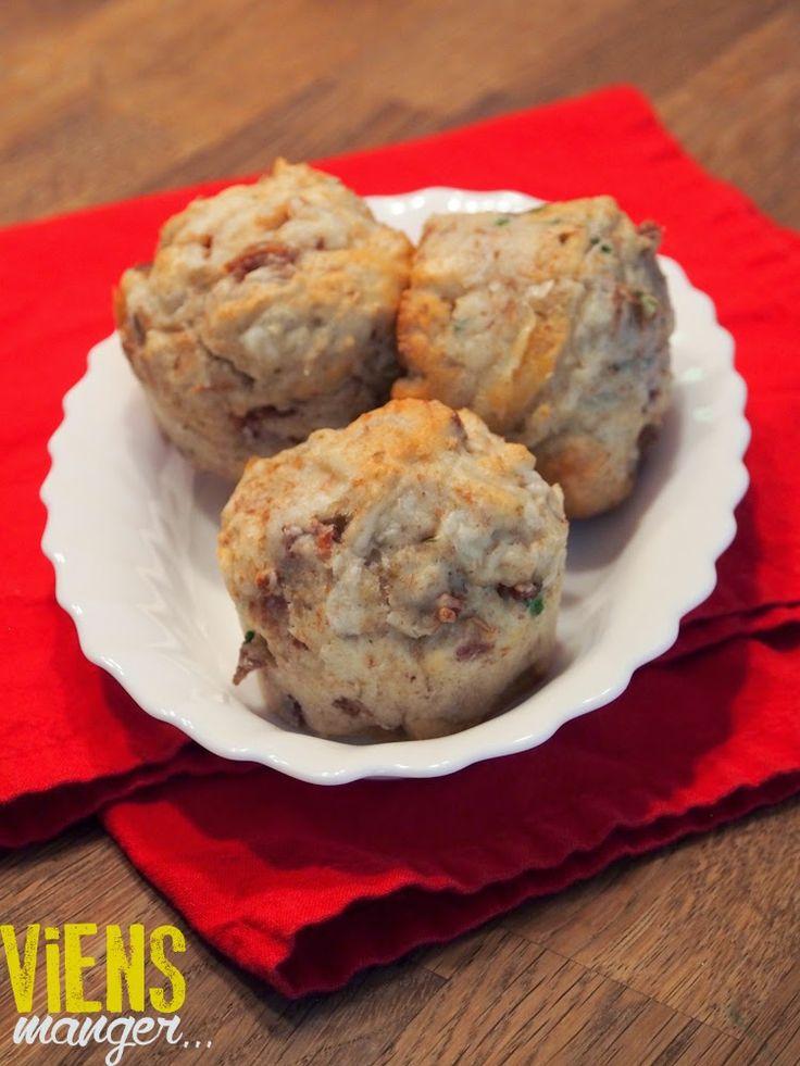 Muffins jambon et cheddar