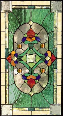 victorian stained glass windows | Victorian Style 16 stained glass window