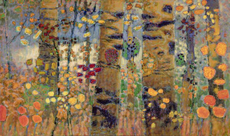 Witnessing Wildernessoil on canvas | 44 x 74″ | 2016 Rick Stevens Art