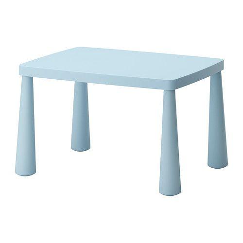 MAMMUT Tavolo per bambini IKEA Sia per interni che per esterni. È in plastica resistente e facile da pulire.