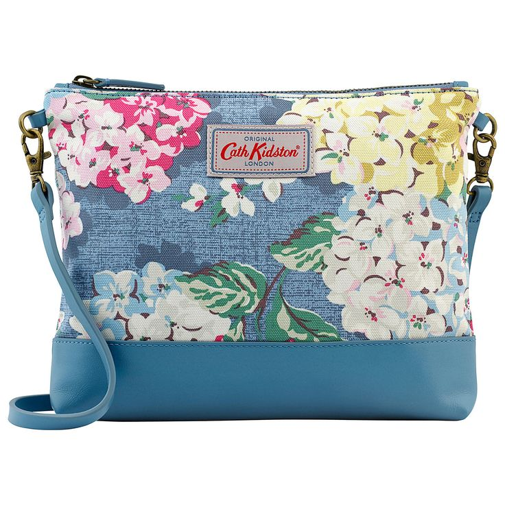 Buy Cath Kidston Small Hydrangea Cotton Across Body Bag, Blue from our Handbags range at John Lewis. Free Delivery on orders over £50.