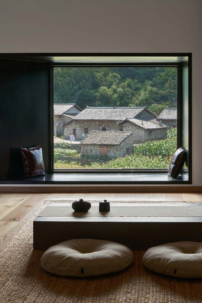 Gallery Of Nanchawan Shiwu Tribe Homestay The Design Institute Of Landscape And Architecture China Academy Of Art 19 Architecture Interior Architecture Design Old Stone Houses