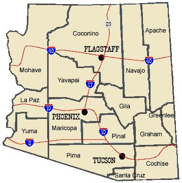 Arizona Ghost Towns Interactive Map Arizona In 2019