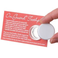 doTERRA Product Tip Cards --OnGuard Toothpaste