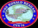 Ship's Seal USS Ronald Reagan (CVN 76)