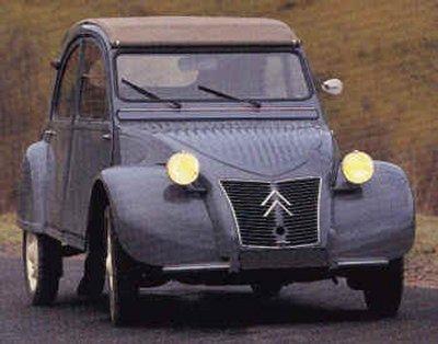 Citroën 2CV • the same Citroen found in Tintin • Citroen 2CV 'duck'