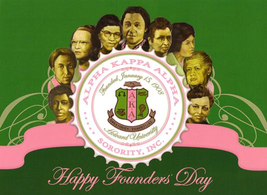 AKA Founders | you know an alpha kappa alpha woman tell her happy founders day with a ...